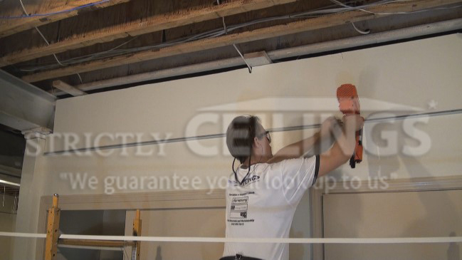 Drop Ceiling Wall Angle Installation Drop Ceilings
