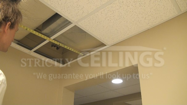 Installing Drop Ceiling Tiles Drop Ceilings Installation How To - Best place to buy ceiling tiles