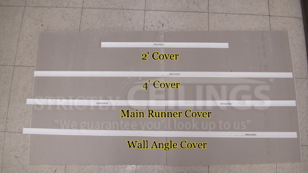 Install Vinyl Grid Covers Over an Existing Grid Frame - Drop ...