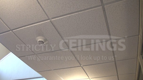 Repair drop ceiling tiles drop ceilings installation how to - Can you wallpaper drop ceiling tiles ...