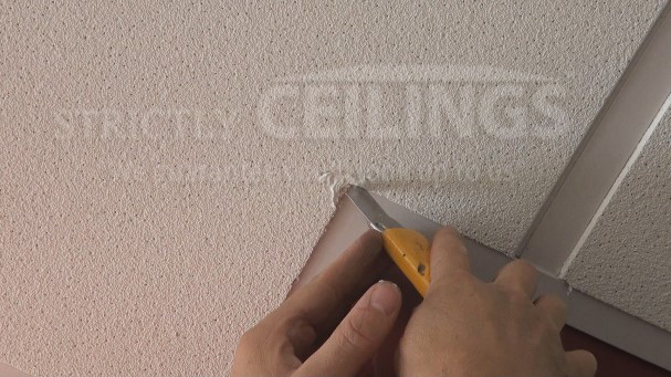 Repair Drop Ceiling Tiles Drop Ceilings Installation How To - Ceiling tile repair kit