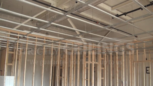 Gypsum Board Suspended Ceiling System ~ Install drywall suspended ceiling grid systems drop