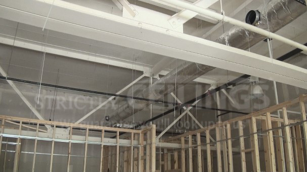 Install Drywall Suspended Ceiling Grid Systems Drop Ceilings