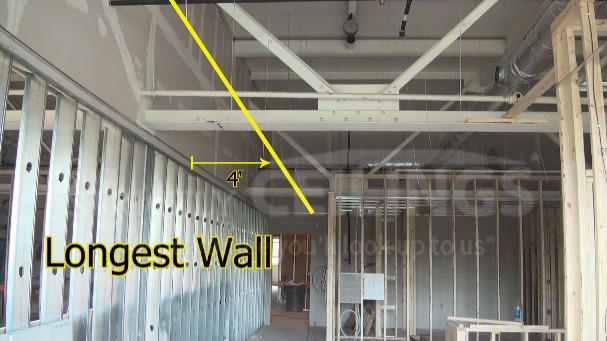 Install Drywall Suspended Ceiling Grid Systems Drop
